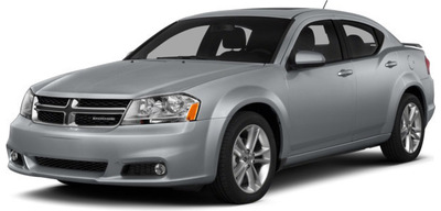 The 2014 Dodge Avenger is capable of a 283-horsepower output, or 31 mpg on the highway.  PRNewsFoto/Briggs Auto Group)