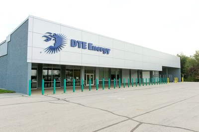 DTE Energy Huron Renewable Energy Center in Bad Axe, Michigan