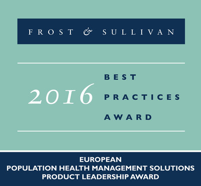 Frost & Sullivan recognizes Orion Health Limited with the 2016 European Product Leadership Award.