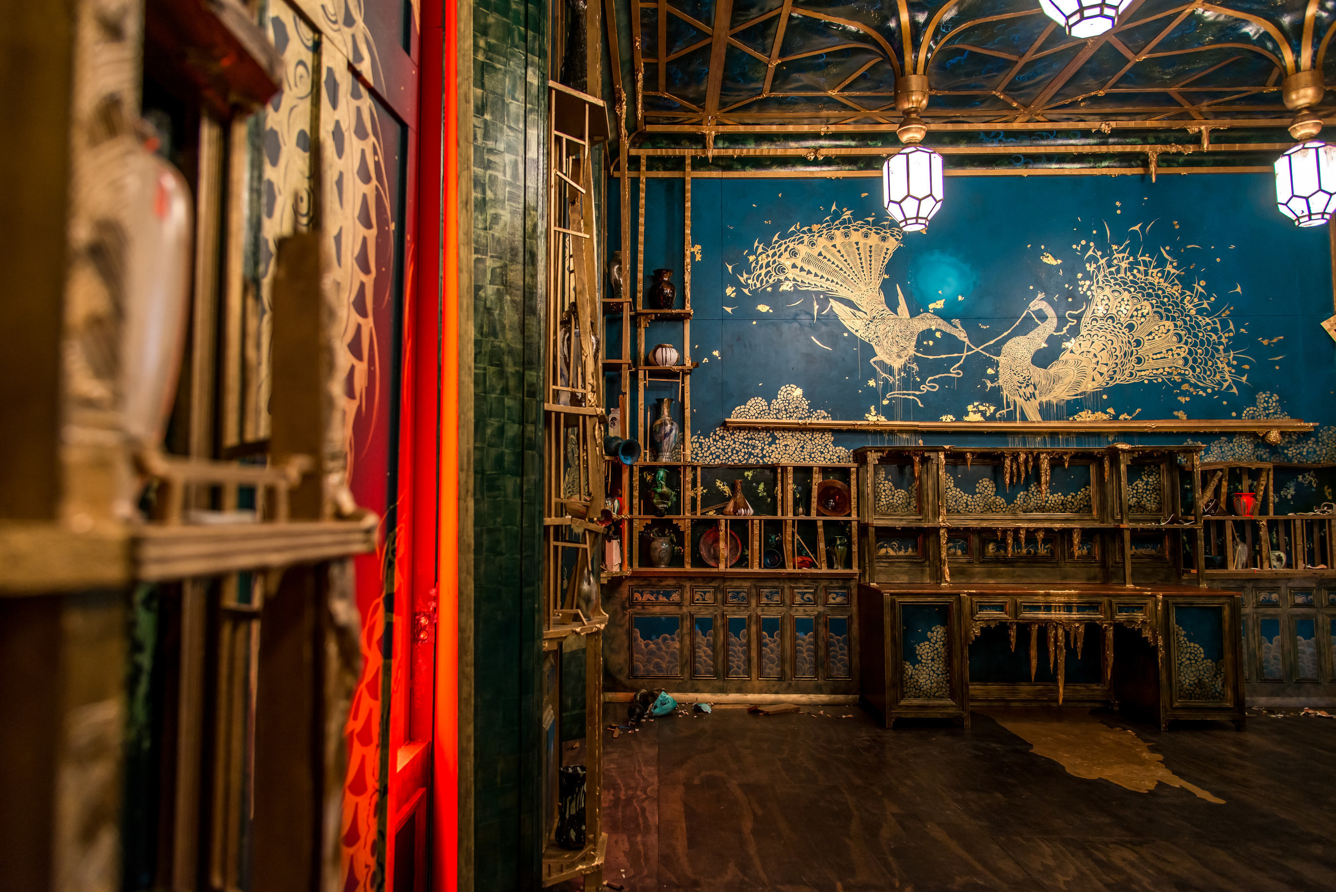 Artist Darren Waterston Recreates Iconic Peacock Room as a Magnificent Ruin at Smithsonian's Sackler Gallery