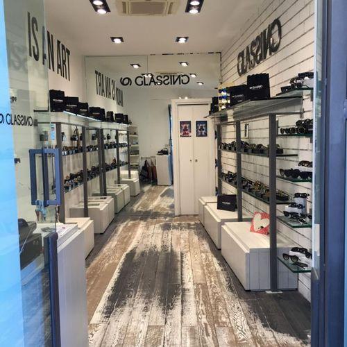 Glassing Store in Taormina (PRNewsFoto/Glassing)
