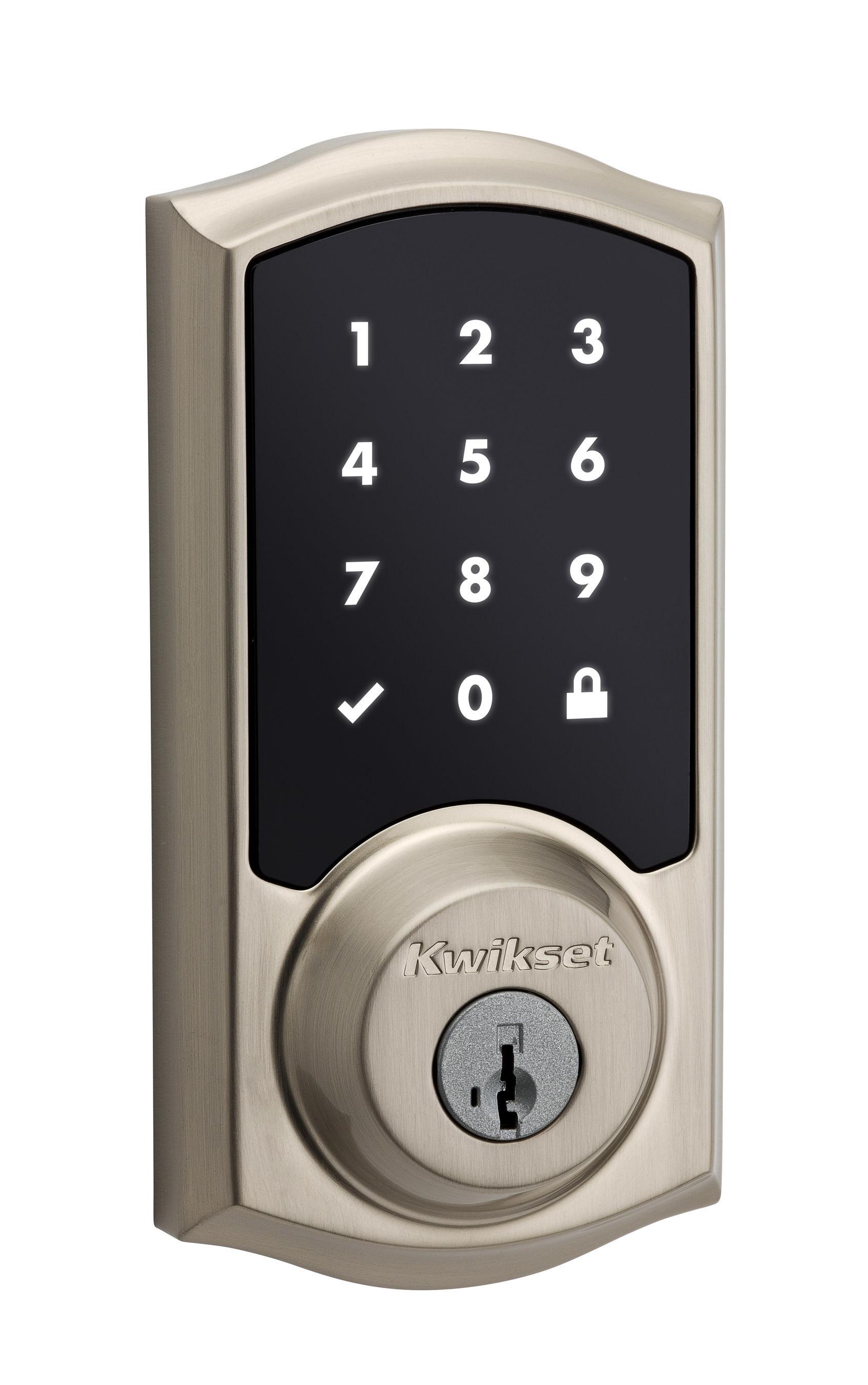 Kwikset(R) announces Premis, its first Apple HomeKit(TM)-compatible smart door lock.