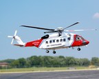 Bristow Accepts first Sikorsky S-92® Helicopter For Long-Term Search and Rescue Services in UK