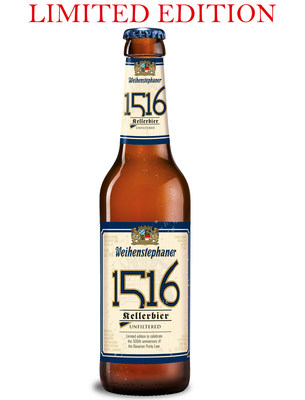 1516 is a 5.6% ABV Kellerbier from Bavarian State Brewery Weihenstephan, brewed in celebration of the 500th anniversary of Reinheitsgebot, the Bavarian Purity Law.