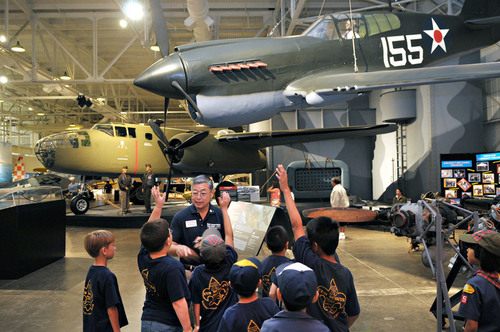 "Young people interested in aviation as a career or hobby should attend ""Discover Your Future in Aviation"" at Pacific Aviation Museum Pearl Harbor.   (PRNewsFoto/Pacific Aviation Museum Pearl Harbor)"