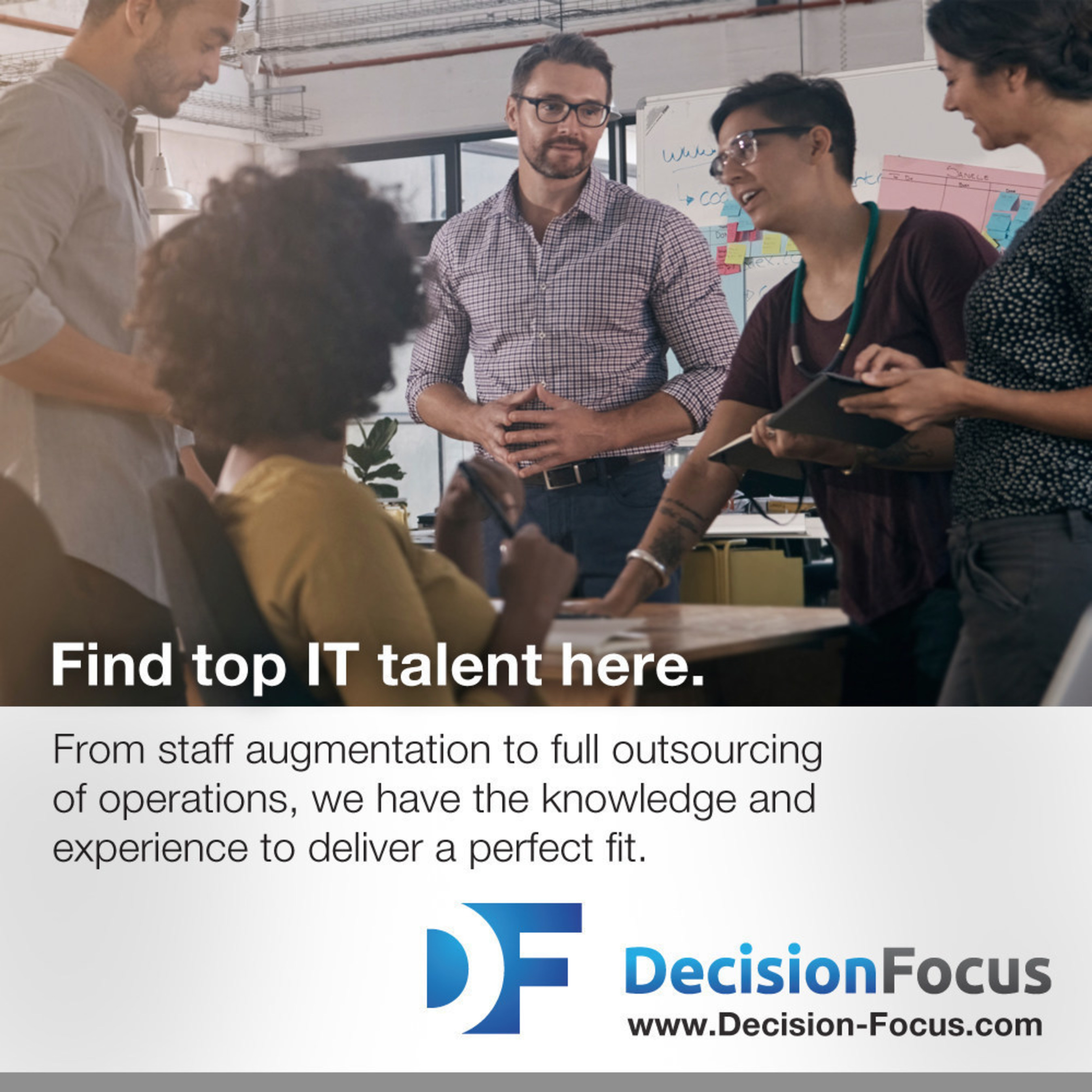 Chicago tech staffing firm, DecisionFocus, Inc., gets ranked #2,378 on Inc. 5000.
