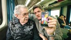 "What Faith Can Do: Nearly forty years after the events in this story, Paul Crouch and son Matthew rode on a train through China, watching TBN live on a smart phone. ""TBN covers the earth today because my father believed there was no mountain God couldn't move,"" said Matthew."