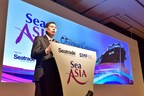 Minister for Transport and Second Minister for Defence Mr Lui Tuck Yew speaking at the Sea Asia 2015 opening ceremony today.