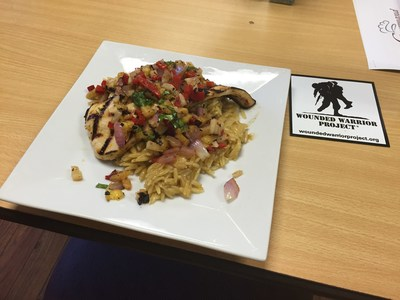 The perfect combo: healthy, hand-prepared meals and Wounded Warrior Project. Warriors put their culinary skills on display during the fitness and nutrition summit.