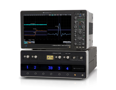 The introduction of the LabMaster 10-100Zi demonstrates the long running, continuing commitment of Teledyne LeCroy to leadership in the high end oscilloscope market by aggressively pushing real-time bandwidth and sample rate boundaries to achieve 100 GHz and 240 GS/s.