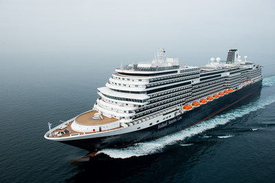 Holland America Line's new ms Koningsdam was welcomed into the Carnival Corporation fleet with a dedication ceremony held May 20 in Rotterdam, the Netherlands. As the first of a new Pinnacle class of ships for Holland America Line, the 2,650-guest capacity Koningsdam becomes the 14th and largest ship in the brand's fleet. Koningsdam will homeport in Amsterdam for the European summer season and in Fort Lauderdale for winter and spring Caribbean cruises.