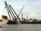 Inland Salvage Inc. Completes Lightering and Salvage Operations of Sunken Hopper Barge