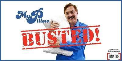 MyPillow Gets $1 million Wake Up Call