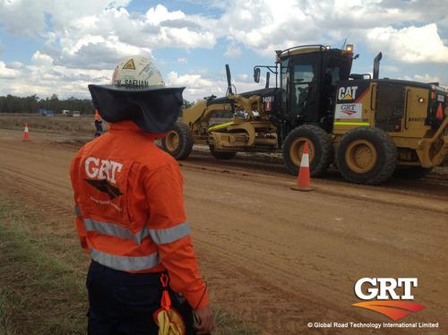 Global Road Technology Dust Control. (PRNewsFoto/Global Road Technology) (PRNewsFoto/GLOBAL ROAD TECHNOLOGY)
