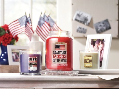 Yankee Candle's new military-themed Homefront Girl(R) collection will support Homes For Our Troops in its efforts to provide homes for severely injured veterans, providing the perfect way to celebrate our heroes this Memorial Day.