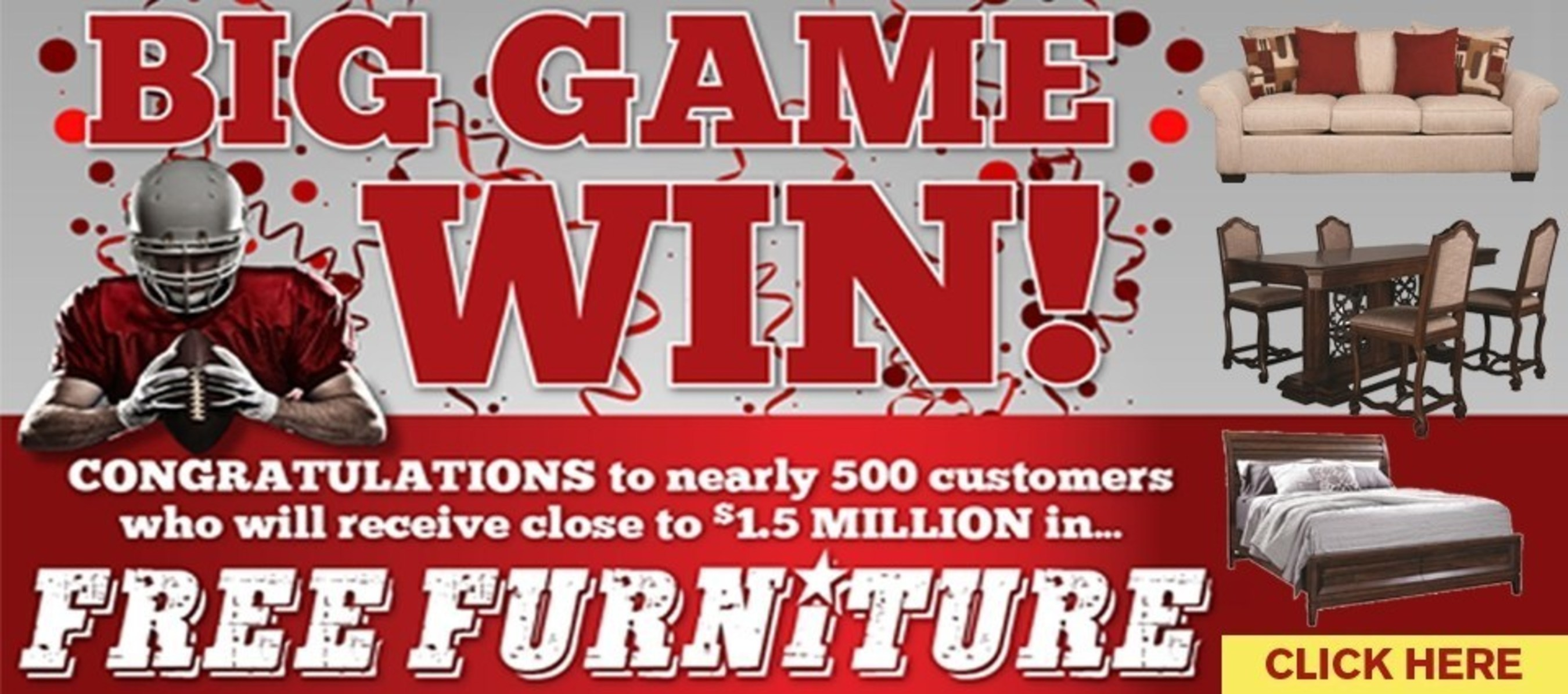 Morris Home Furnishings Awarded $1.5 Million to Consumers After Ohio State football win.