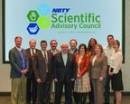 NBTY's Scientific Advisory Council, from Left to Right: Steve Cahillane, Martin Floch, David Katz, David Nieman, Gilbert Leveille, Tom Brenna, Aviva Romm, Florence Okaro, Diane McKay, Chris Brennan, Susan Mitmesser