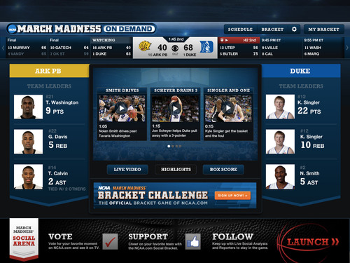 Turner Sports, CBS Sports and the NCAA® Announce a Newly Enhanced NCAA MARCH MADNESS® on DEMAND for