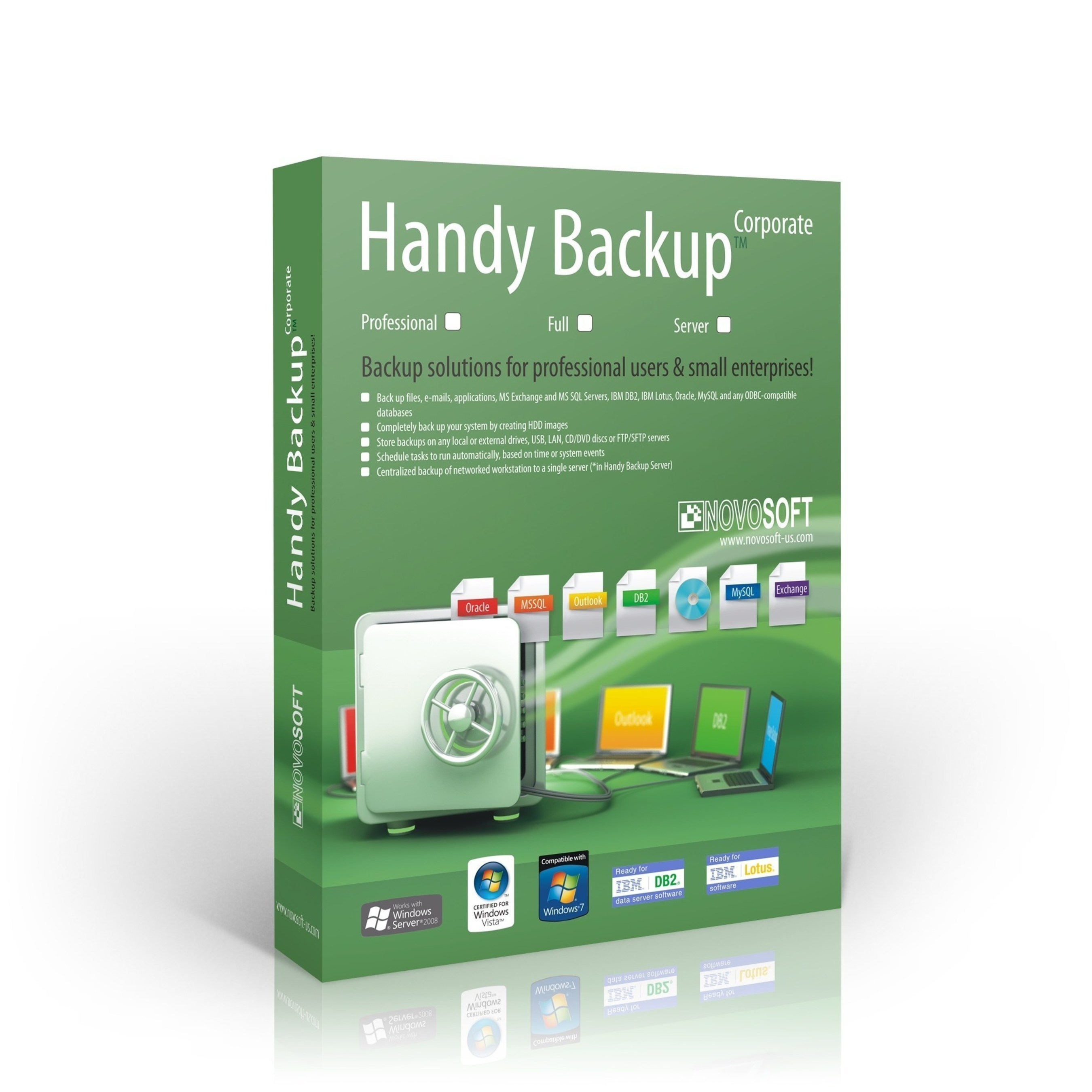 Handy Backup 7: New Server Backup Advantages for Working with Databases, VMs and Remote Machines