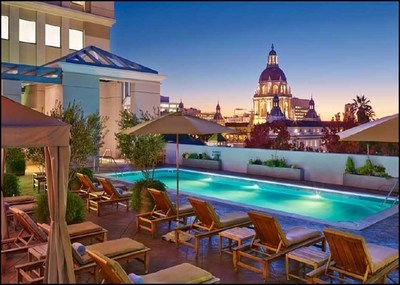 The Westin Pasadena, acquired by Carey Watermark Investors for $142.5 million, is a Four Diamond AAA-rated hotel located within the Plaza Las Fuentes.