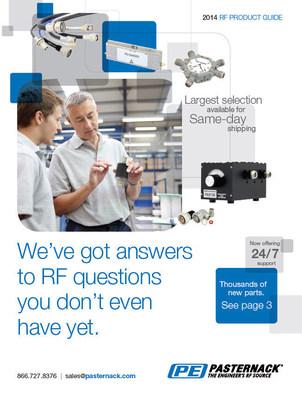 Pasternack's 2014 RF Product Guide (PRNewsFoto/Pasternack Enterprises, Inc.)