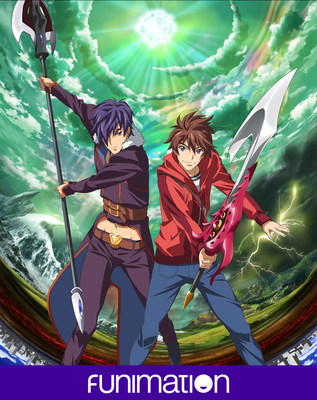 """Endride"" key art. Courtesy of Funimation Entertainment."