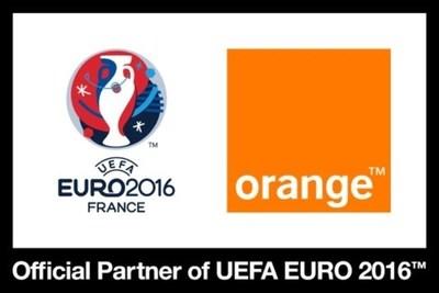 Orange Euro 2016 Logo (PRNewsFoto/Orange)
