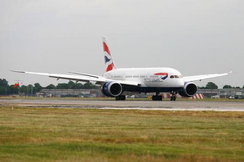 British Airways 787 Dreamliner.  (PRNewsFoto/British Airways)