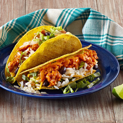 Celebrate #NationalSalmonDay on October 8 with the perfect pairing: salmon and rice. These Black Bean and Barbecue Salmon White Rice Tacos are just one of the simple, delicious recipes you can make.