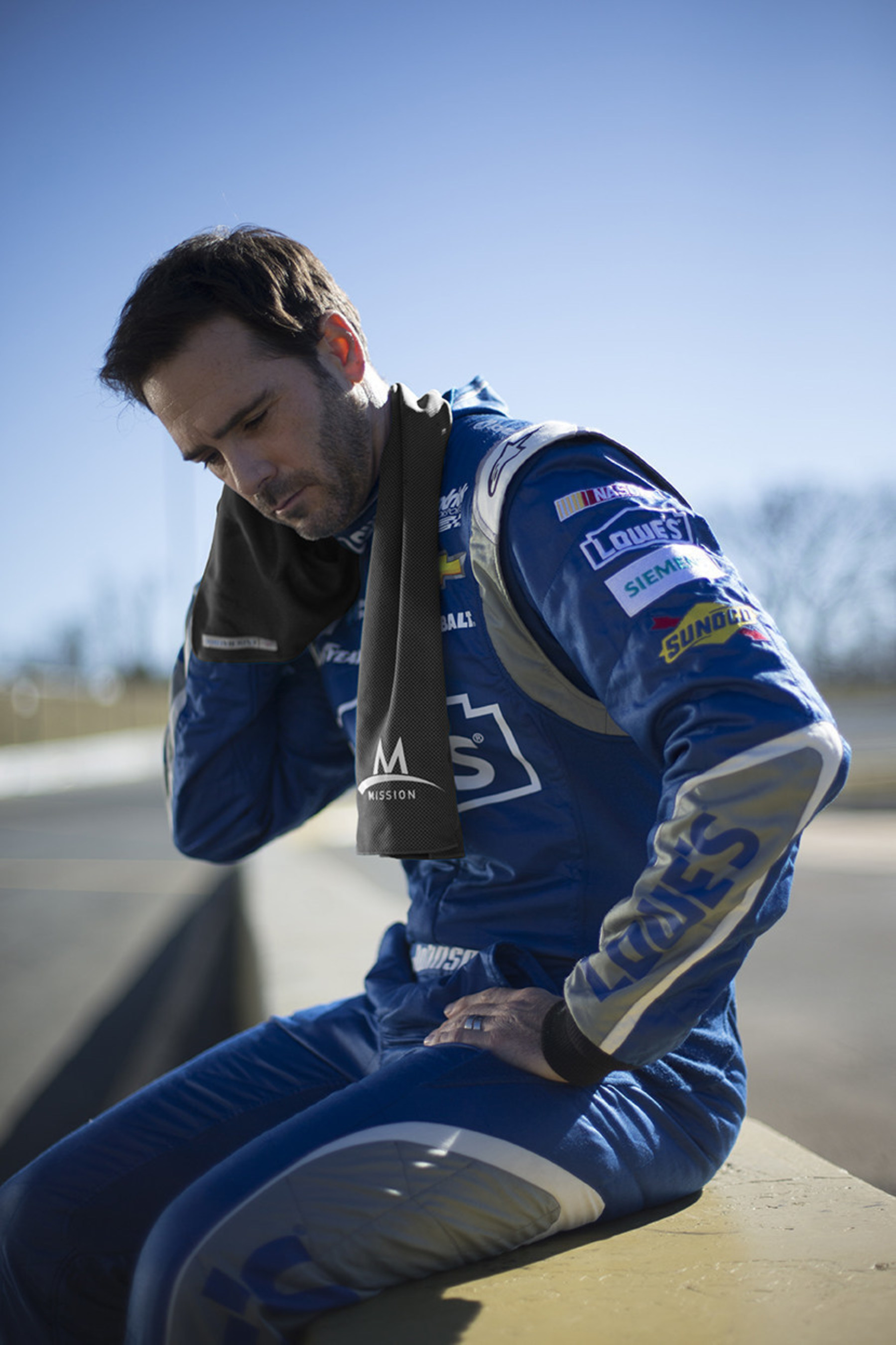 MISSION Athletecare partners with six-time NASCAR champion Jimmie Johnson and Lowe's to launch nationwide heat safety awareness campaign.