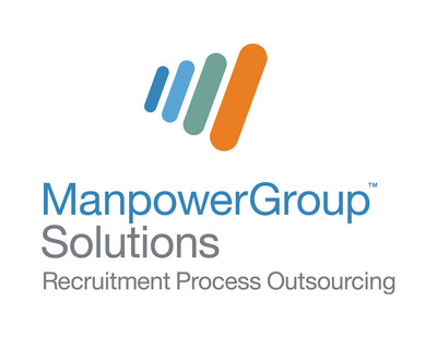ManpowerGroup Solutions Recruitment Process Outsourcing Logo.  (PRNewsFoto/ManpowerGroup)