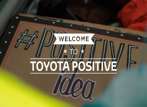 Le mouvement « Toyota Positive » passe le relais aux Londoniens
