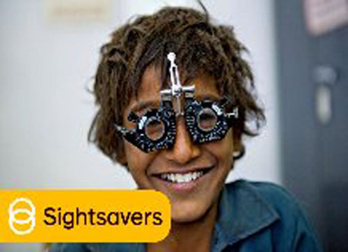 HH Sheikha Arwa Al Qassimi joins hands with Sightsavers to help the visually impaired.  (PRNewsFoto/Sightsavers)
