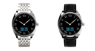 New 3Plus Time Smartwatch: The look of a traditional timepiece coupled with today's digital capabilities.