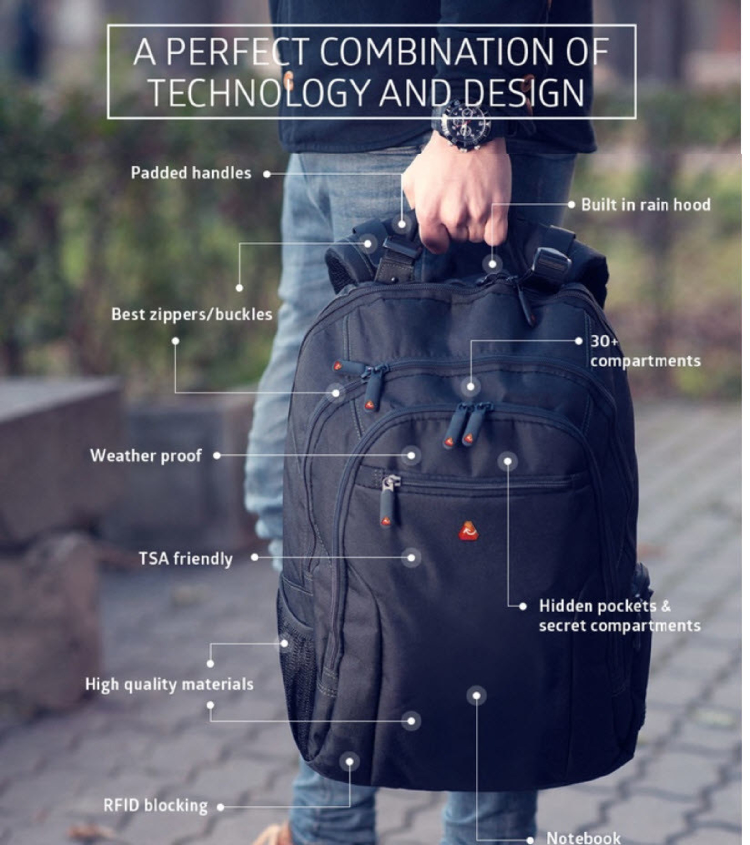 'BulletProof' BackPack Coming to Kickstarter