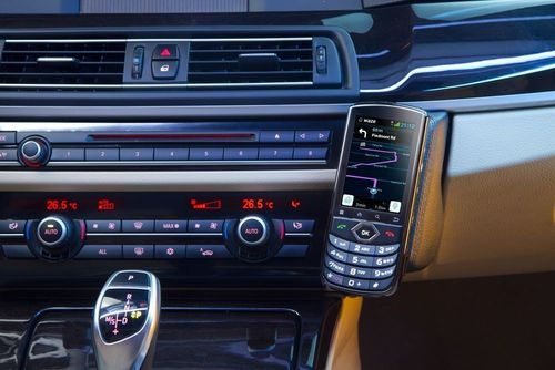 VOYAGER - The Ultimate Connected Car Smartphone (PRNewsFoto/Accel Telecom Ltd)