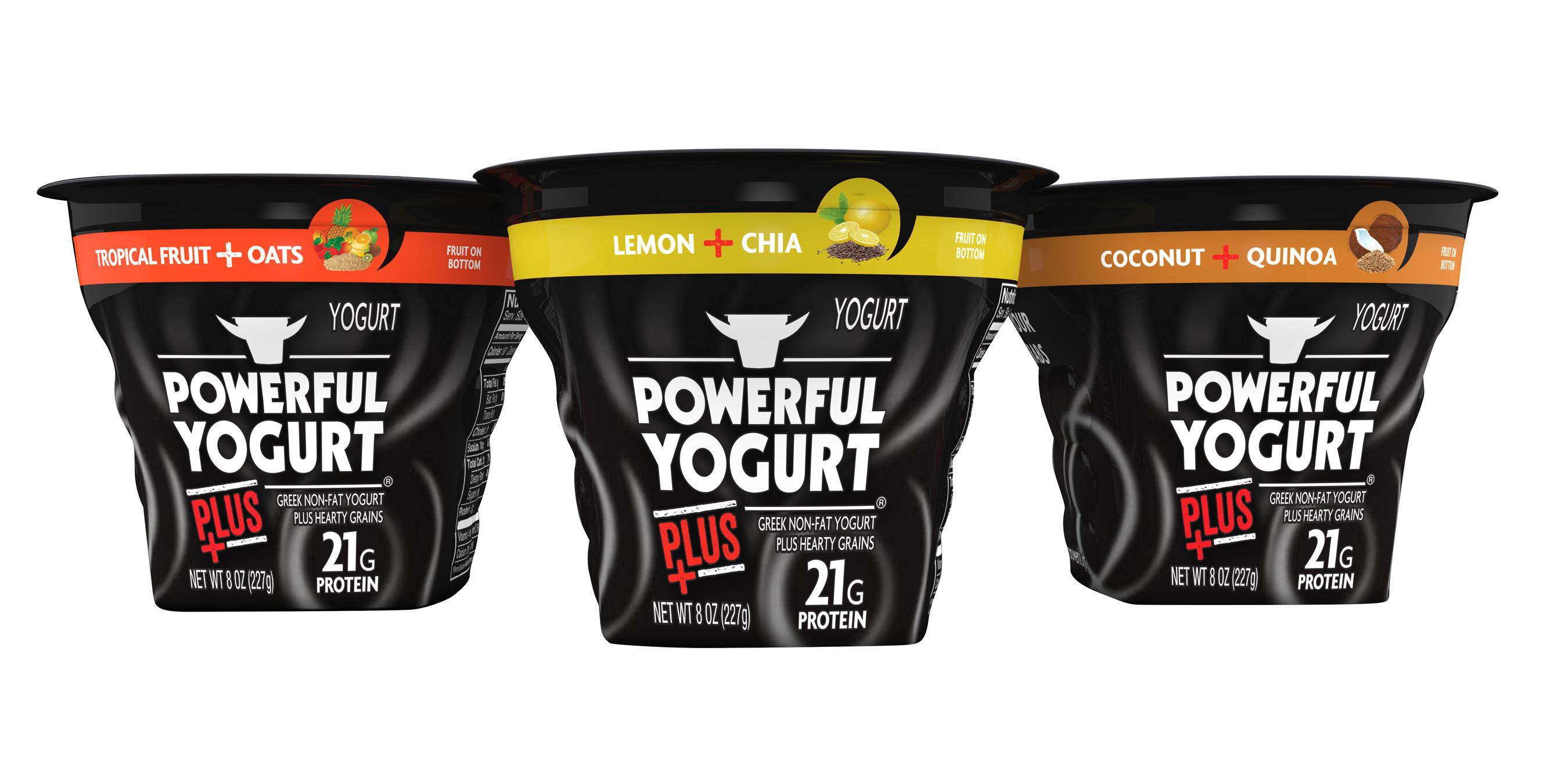 Powerful Yogurt Plus.  (PRNewsFoto/Powerful Yogurt)