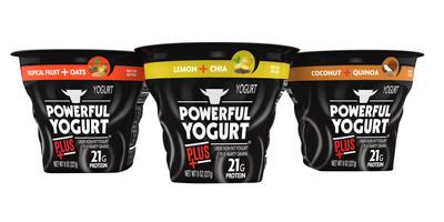 Powerful Yogurt Plus. (PRNewsFoto/Powerful Yogurt) (PRNewsFoto/POWERFUL YOGURT)