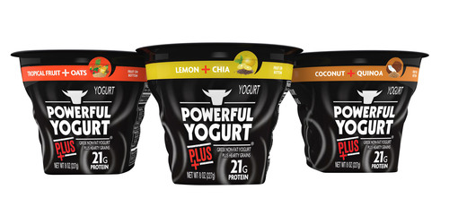 Powerful Yogurt Plus.  (PRNewsFoto/Powerful Yogurt)
