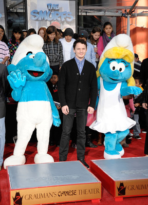The Smurfs™ Honored With Historic Handprint Ceremony at Grauman's Chinese Theatre