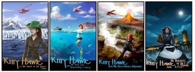 Kitty Hawk Flying Detective Agency Series (PRNewsFoto/Book Publicity Services)