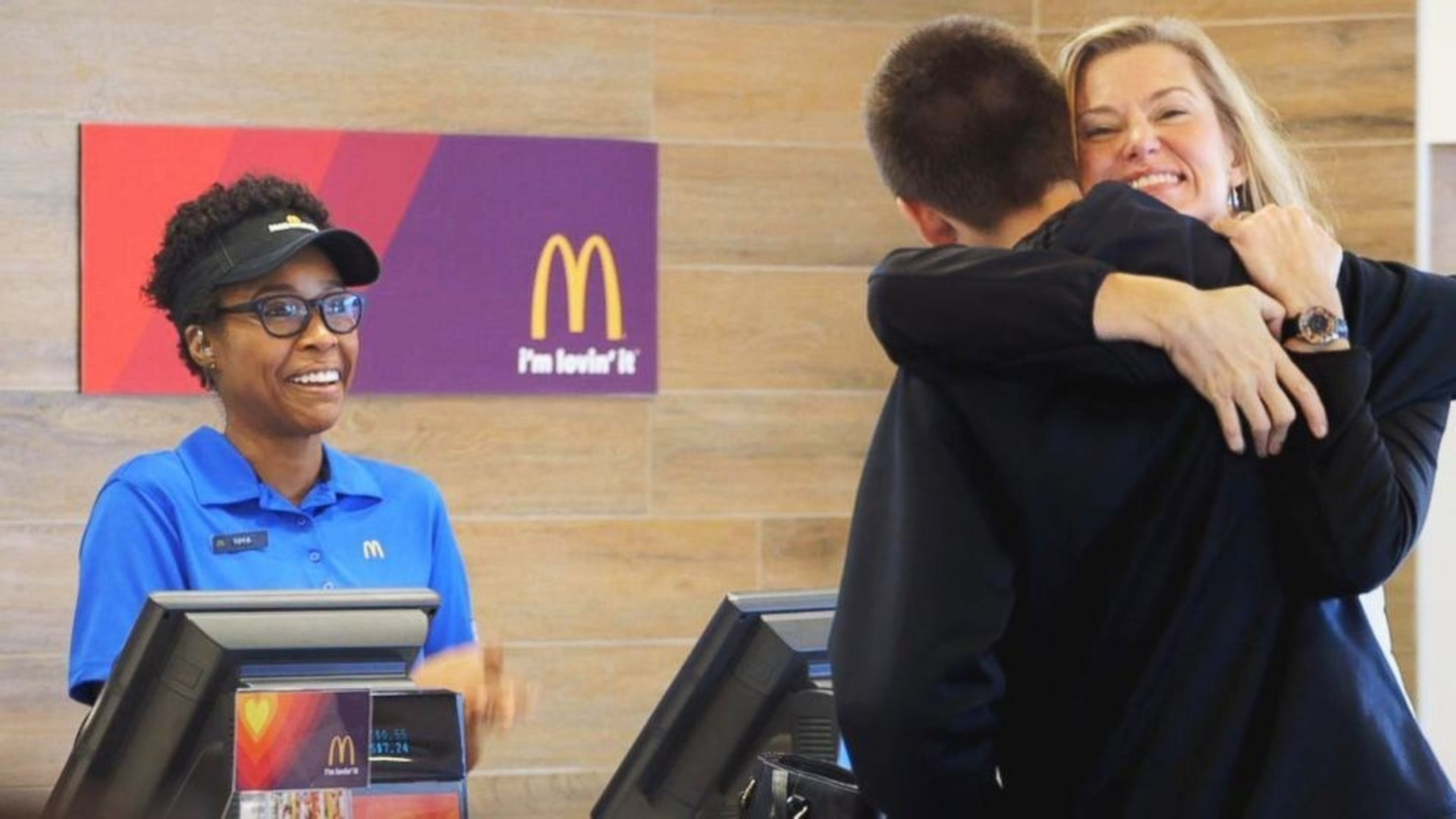 McDONALD'S SHARES LOVIN' WITH NEW YORK TRI-STATE CUSTOMERS