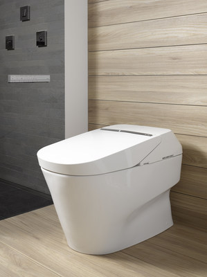 Winner of the iF International Award for Design Excellence, TOTO's NEOREST 750H intelligent toilet has all of the People-First Innovations that consumers have come to expect from TOTO - intuitive sensor operation with auto open/close and auto flush; integrated personal cleansing system with warm, aerated water, warm air dryer, and heated seat; in-bowl catalytic deodorizer; ultra high-efficiency Tornado flushing system, eWater+, CeFiONtect glaze, and Actilight Cleansing Technology, keeping the bowl incredibly clean and fresh for months at a time. The NEOREST 750H is the state-of-the-art in luxury.