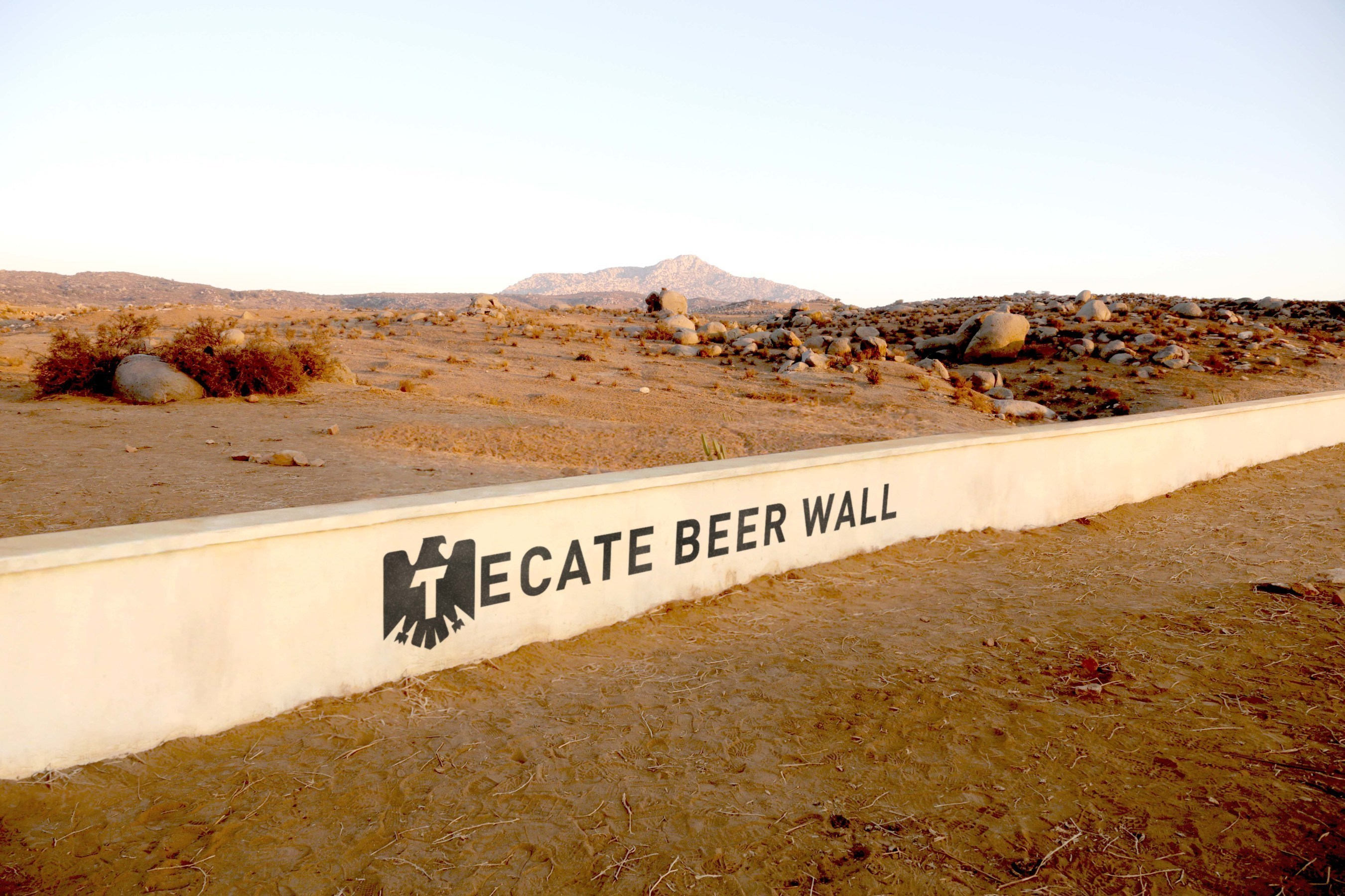 Tecate light builds a wall to unify not divide in latest born bold tecatebeerwall mozeypictures Choice Image