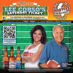 Hooters Kicks off Football with Lee Corso's Saturday Ticket Buy 10 Get 10 Free Wing Offer.  (PRNewsFoto/Hooters of America, LLC)