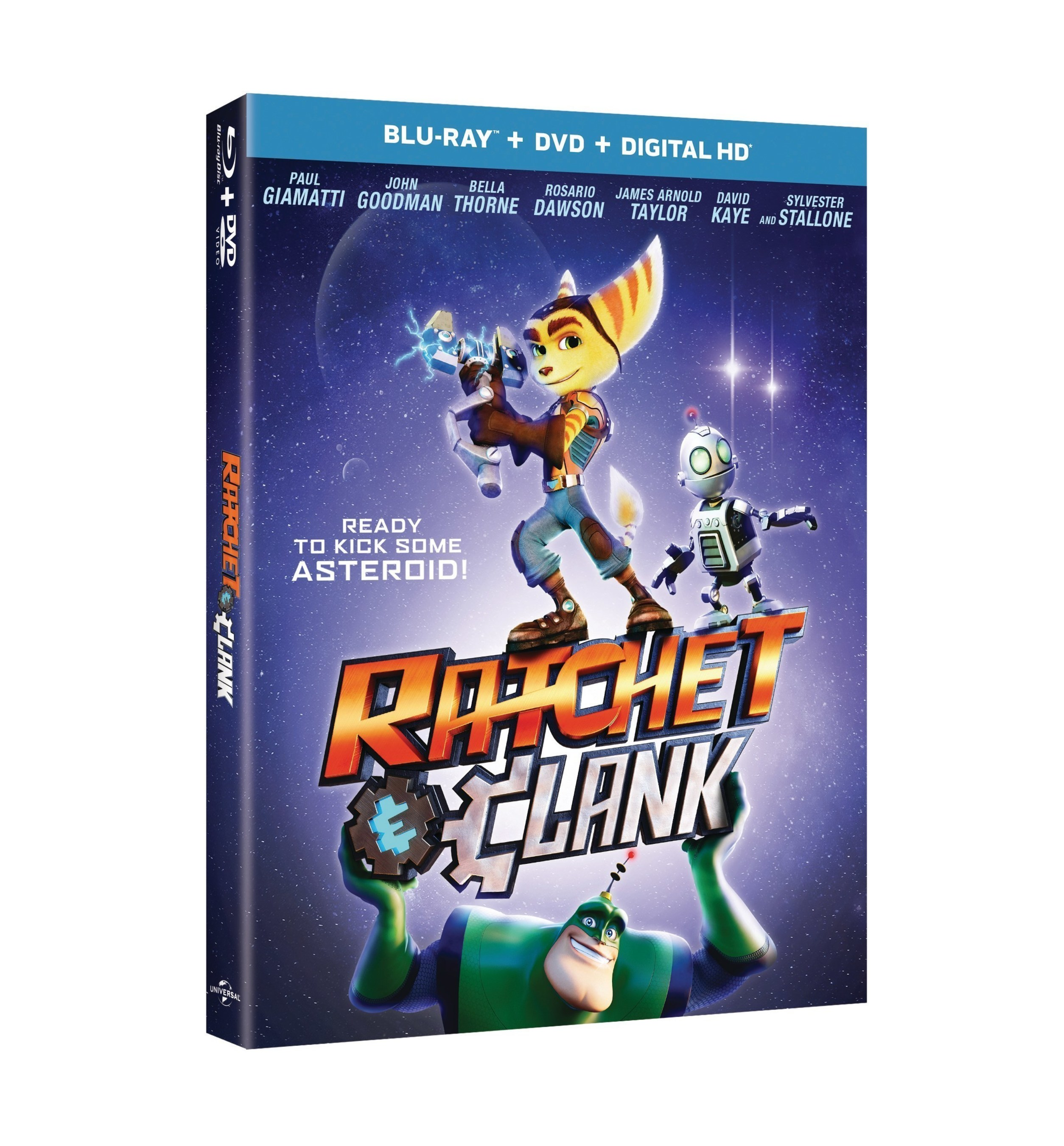 The Iconic Video Game Blasts Off As An All-New CG Animated Movie: Ratchet & Clank