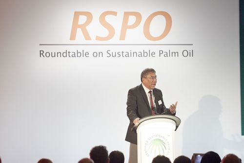Biswaranjan Sen - Vice President Chemicals Procurement & Supply Procurement at Unilever & Chair of the RSPO Board of Governors (PRNewsFoto/RSPO)