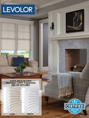 New Double Cell Cordless Cellular Shades provide additional home insulation and help reduce energy bills by up to 12%*