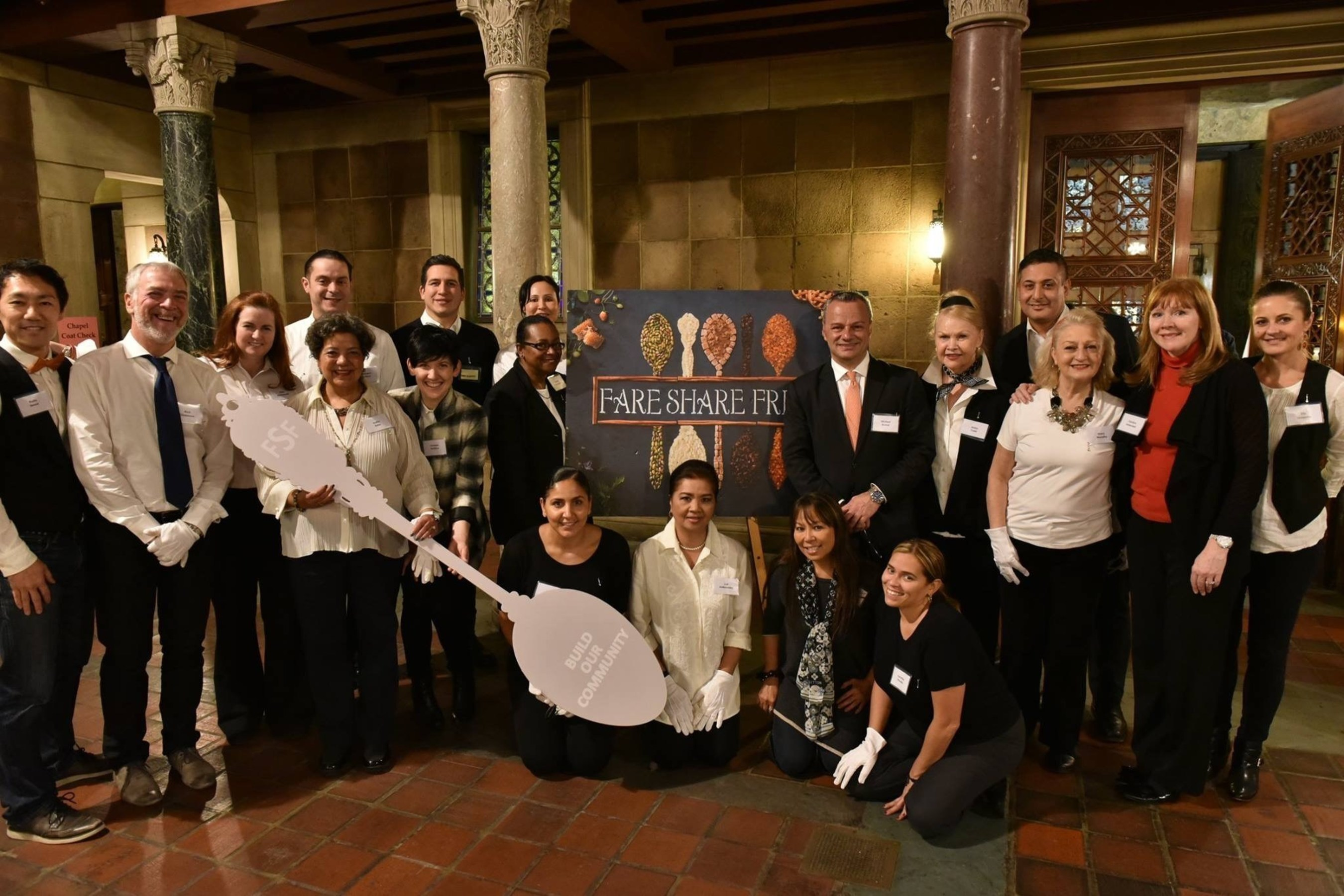 Applause Tickets donates to a charitable fund established by the New York City Association of Hotel Concierges and participates in community service activities like Fare Share Friday serving Thanksgiving dinner to those in need.