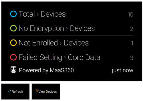 MaaS360 Delivers First Enterprise Mobility Management Accessible through Google Glass